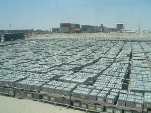 Image of storage depot in Kuwait